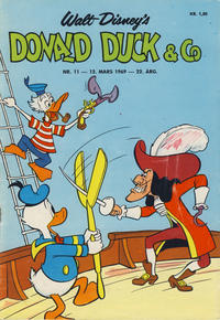 Cover Thumbnail for Donald Duck & Co (Hjemmet, 1948 series) #11/1969