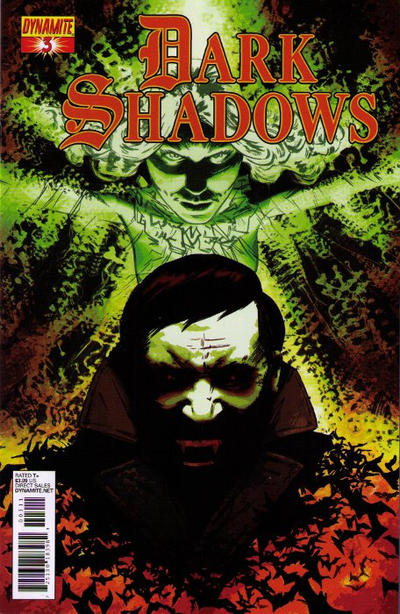 Cover for Dark Shadows (Dynamite Entertainment, 2011 series) #3