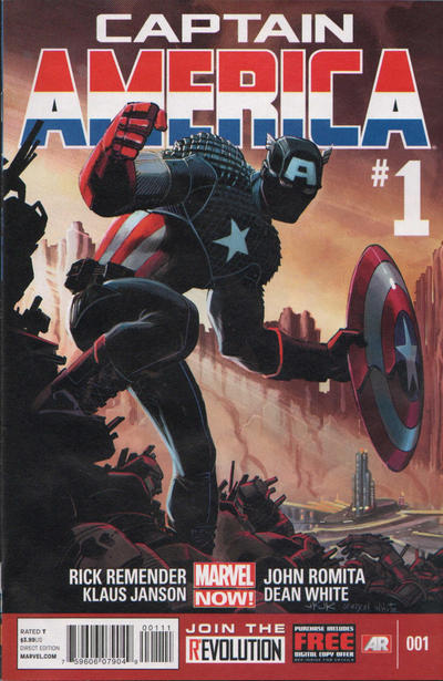 Cover for Captain America (Marvel, 2013 series) #1