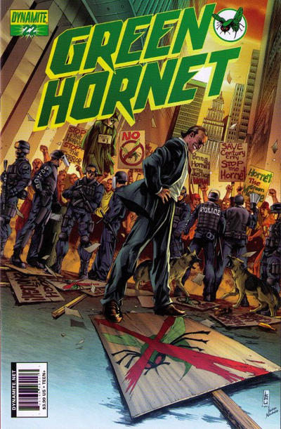 Cover for Green Hornet (Dynamite Entertainment, 2010 series) #22