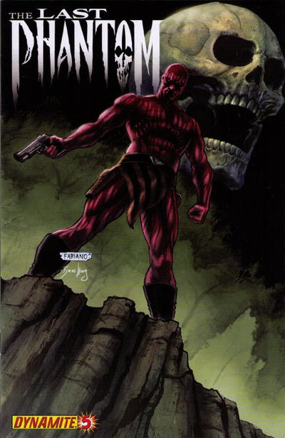 Cover for The Last Phantom (Dynamite Entertainment, 2010 series) #5