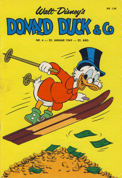 Cover for Donald Duck & Co (Hjemmet, 1948 series) #4/1969