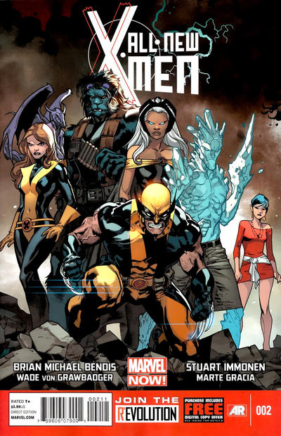Cover for All-New X-Men (Marvel, 2013 series) #2