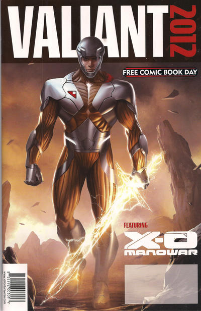 Cover for Valiant Comics FCBD 2012 Special (Valiant Entertainment, 2012 series) #1