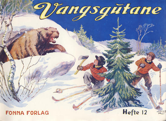 Cover for Vangsgutane (Fonna Forlag, 1941 series) #12