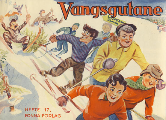Cover for Vangsgutane (Fonna Forlag, 1941 series) #17
