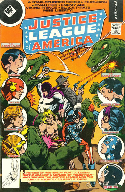 Cover for Justice League of America (DC, 1960 series) #160 [Whitman cover]