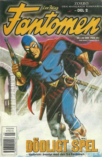 Cover for Fantomen (Egmont, 1997 series) #5/1999
