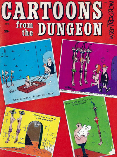 Cover for Cartoons from the Dungeon (Marvel, 1968 series) #1