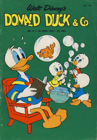 Cover Thumbnail for Donald Duck & Co (Hjemmet, 1948 series) #17/1969