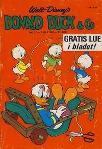 Cover Thumbnail for Donald Duck & Co (Hjemmet, 1948 series) #27/1969