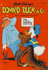 Cover Thumbnail for Donald Duck & Co (Hjemmet, 1948 series) #47/1969