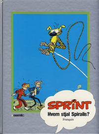 Cover Thumbnail for Sprint [Seriesamlerklubben] (Semic, 1986 series) #18 - Hvem stjal Spiralis?