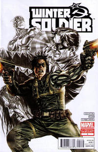 Cover for Winter Soldier (2012 series) #1 [Sketch Variant Cover by Lee Bermejo]