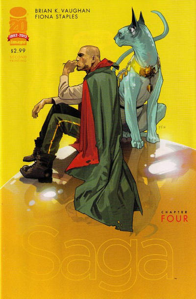 Cover for Saga (Image, 2012 series) #4