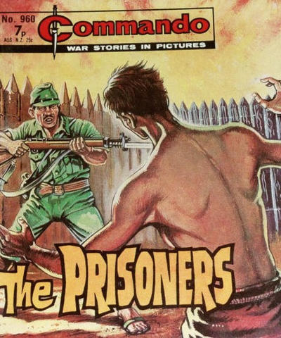 Cover for Commando (D.C. Thomson, 1961 series) #960