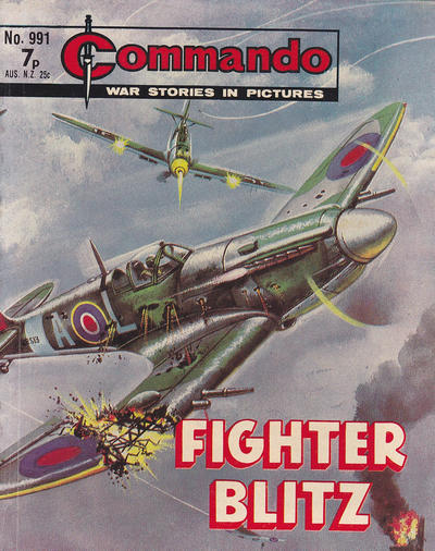 Cover for Commando (1961 series) #991