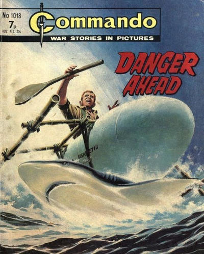 Cover for Commando (1961 series) #1018