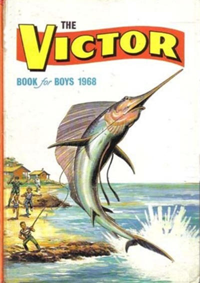 Cover for The Victor Book for Boys (1965 series) #1968