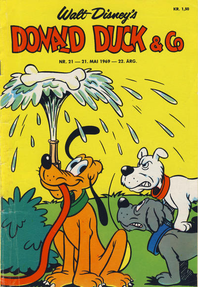Cover for Donald Duck & Co (1948 series) #21/1969