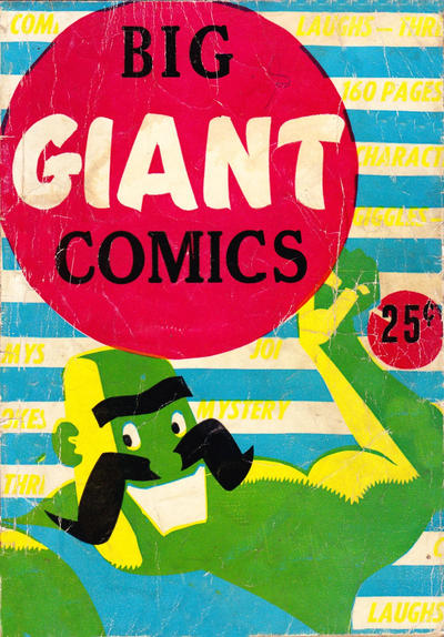 Cover for Big Giant Comics (Export Publishing, 1948 series) #5