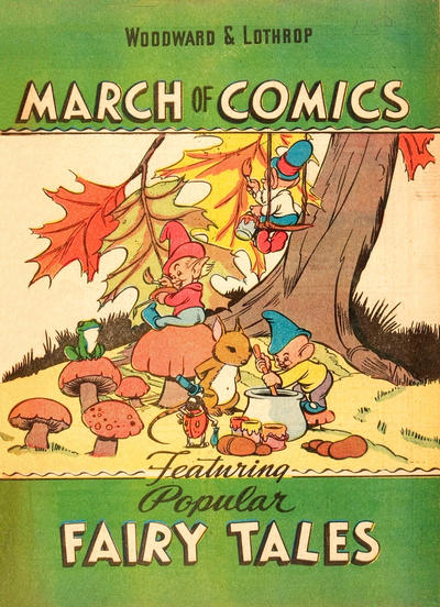 Cover for March of Comics (Western, 1946 series) #6