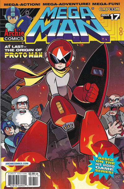 Cover for Mega Man (2011 series) #17