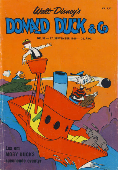 Cover for Donald Duck & Co (Hjemmet, 1948 series) #38/1969