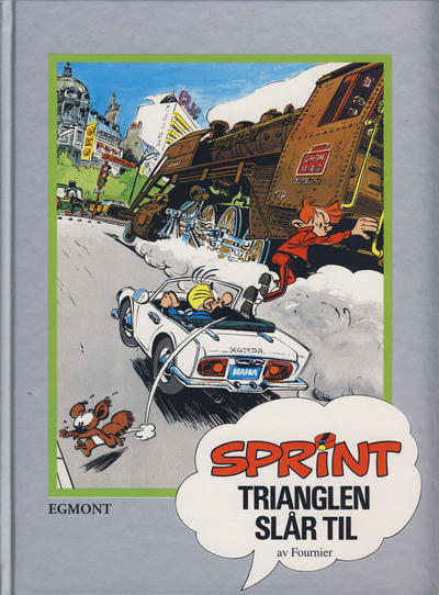Cover for Sprint [Seriesamlerklubben] (1998 series) #15 - Trianglen slr til
