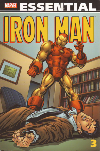 Cover for Essential Iron Man (Marvel, 2000 series) #3 [First Printing]