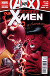 Cover for Uncanny X-Men (Marvel, 2012 series) #11 [2nd Printing Variant]