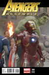 Cover Thumbnail for Avengers Assemble (2012 series) #9 [Wraparound Movie Photo Variant Cover]