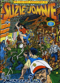 Cover Thumbnail for The Laid-Back Adventures of Suzie and Jonnie (Antonio A. Ghura, 1981 series)