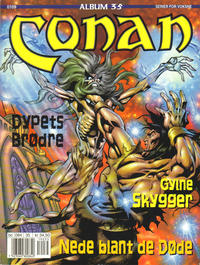 Cover Thumbnail for Conan album (Bladkompaniet, 1992 series) #35 - Gylne skygger