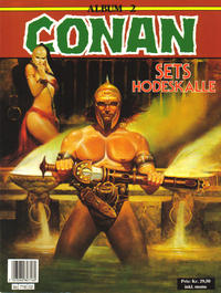 Cover Thumbnail for Conan album (Bladkompaniet, 1992 series) #2 - Sets hodeskalle