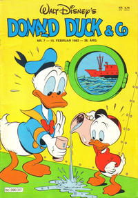 Cover Thumbnail for Donald Duck & Co (Hjemmet, 1948 series) #7/1983