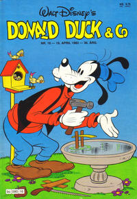 Cover Thumbnail for Donald Duck & Co (Hjemmet, 1948 series) #16/1983