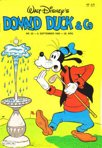 Cover Thumbnail for Donald Duck & Co (Hjemmet, 1948 series) #36/1983