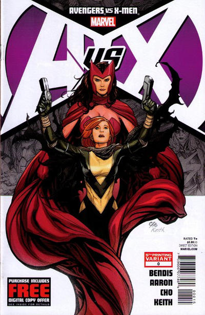 Cover for Avengers vs. X-Men (Marvel, 2012 series) #0