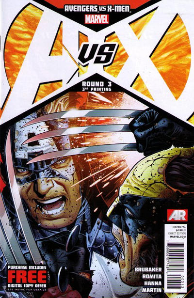 Cover for Avengers vs. X-Men (Marvel, 2012 series) #3 [Sketch Variant Cover by Sara Pichelli]
