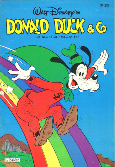 Cover for Donald Duck & Co (Hjemmet, 1948 series) #20/1983