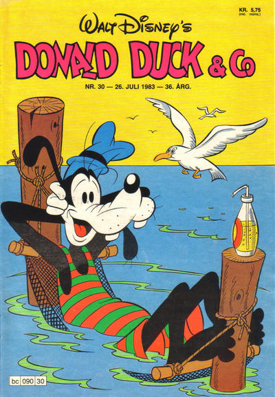 Cover for Donald Duck & Co (Hjemmet, 1948 series) #30/1983