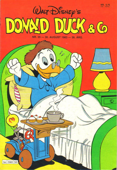 Cover for Donald Duck & Co (Hjemmet, 1948 series) #35/1983