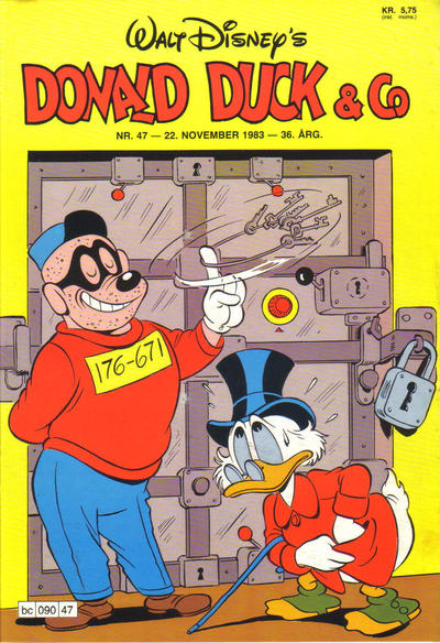 Cover for Donald Duck & Co (Hjemmet, 1948 series) #47/1983