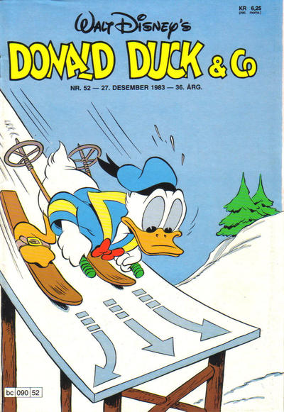 Cover for Donald Duck & Co (1948 series) #52/1983