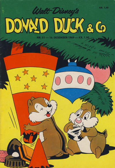 Cover for Donald Duck & Co (Hjemmet, 1948 series) #51/1969