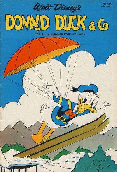 Cover for Donald Duck & Co (Hjemmet, 1948 series) #6/1970