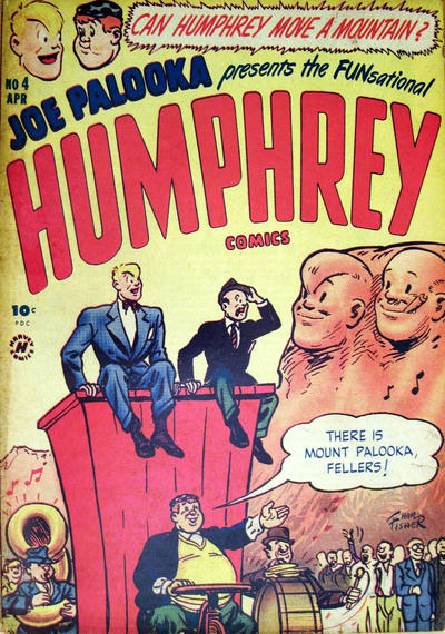 Cover for Humphrey Comics (Harvey, 1948 series) #4
