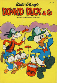 Cover Thumbnail for Donald Duck & Co (Hjemmet, 1948 series) #16/1970