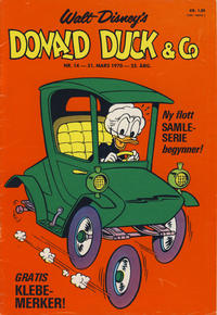 Cover Thumbnail for Donald Duck & Co (Hjemmet, 1948 series) #14/1970